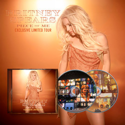 Britney Spears Piece Of Me Exclusive Limited Tour Cd Live