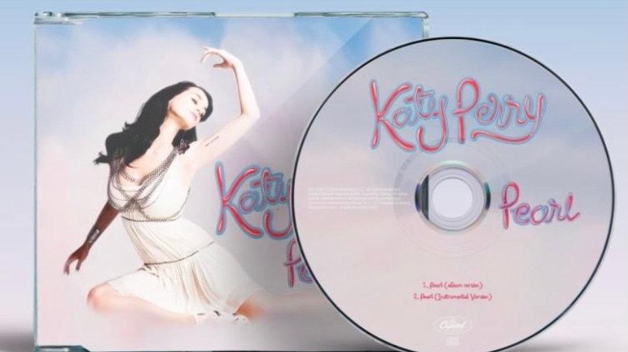 "Katy perry ""Pearl"" Cd  single"