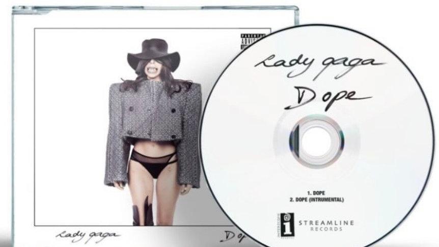 "Lady Gaga ""DOPE"" cd single"
