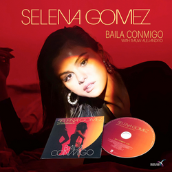 Selena Gomez Baila conmigo Cd Single