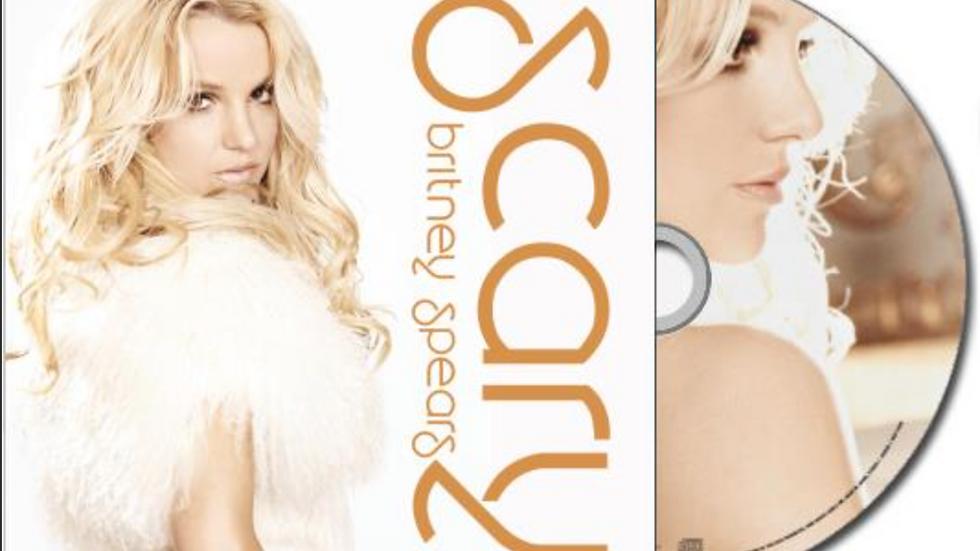 "Britney Spears ""Scary"" Cd Single"