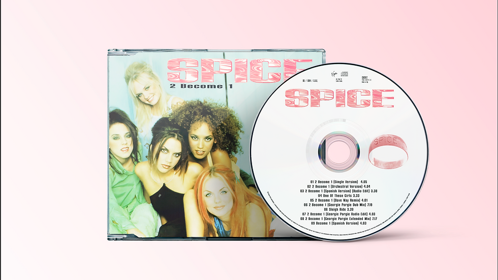 """Spice Girls """"2 Become1"""" Cd single"""
