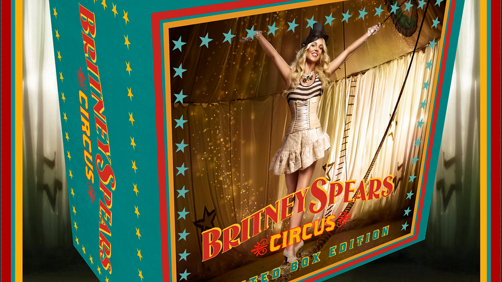 """Britney Spears """"Circus Limited Box Edition"""""""