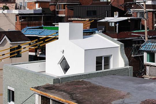 홍은동 남녀하우스 4층 옥탑 테라스