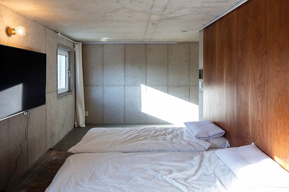 홍은동 남녀하우스 침실