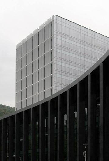 한국외대 글로벌캠퍼스 백년관 에이오에이