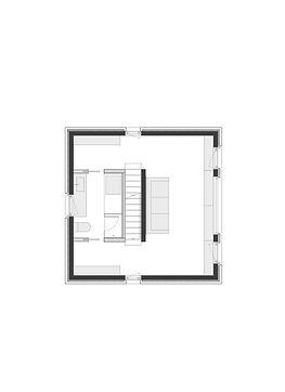 홍은동 남녀하우스 2층 평면