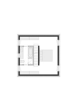 홍은동 남녀하우스 3층 평면
