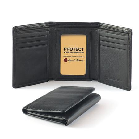 RFID Trifold Men's Wallet