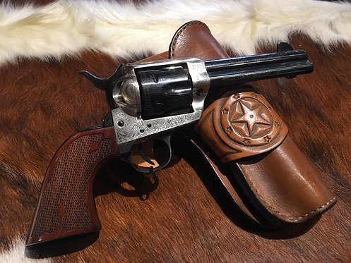 Cimarron Colt Frontier - Beautiful Engraving - 45CAL SAA