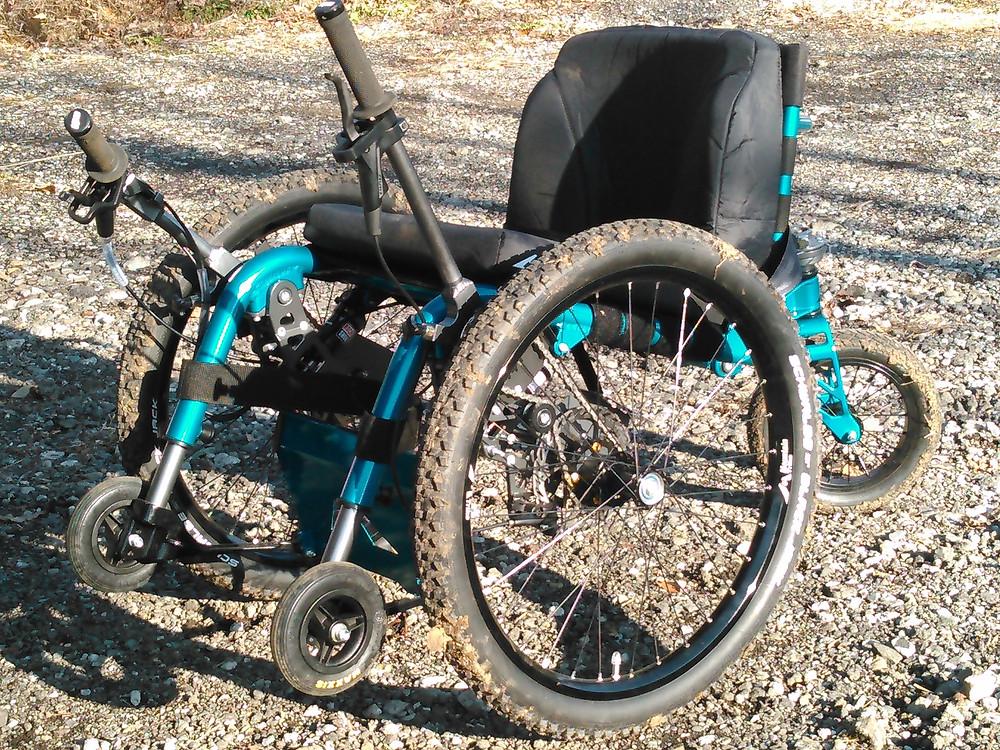 マウンテントライク 車椅子でアウトドア