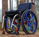 車いす用ホイール、loopwheels,車椅子用、ホイール、サスペンション