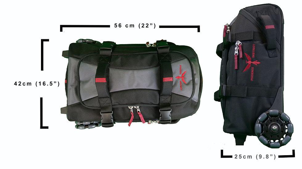 Phoenix Gear Bag コンパクトバッグ ユニバーサルアダプター付き