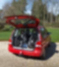 マウンテントライク,Mountain Trike,アウトドア用車椅子,積載,運搬