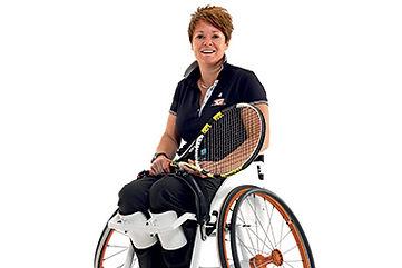 車椅子テニス,ほいーrホイール