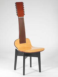 Baltic Birch Custom Acoustic Inspired Traditional Guitar Chair