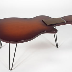 Short Neck Guitar Coffee Table