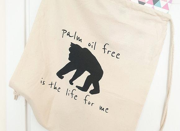 PALM OIL FREE DRAWSTRING BAG
