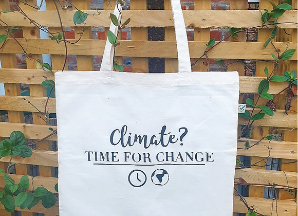 CLIMATE CHANGE TOTE