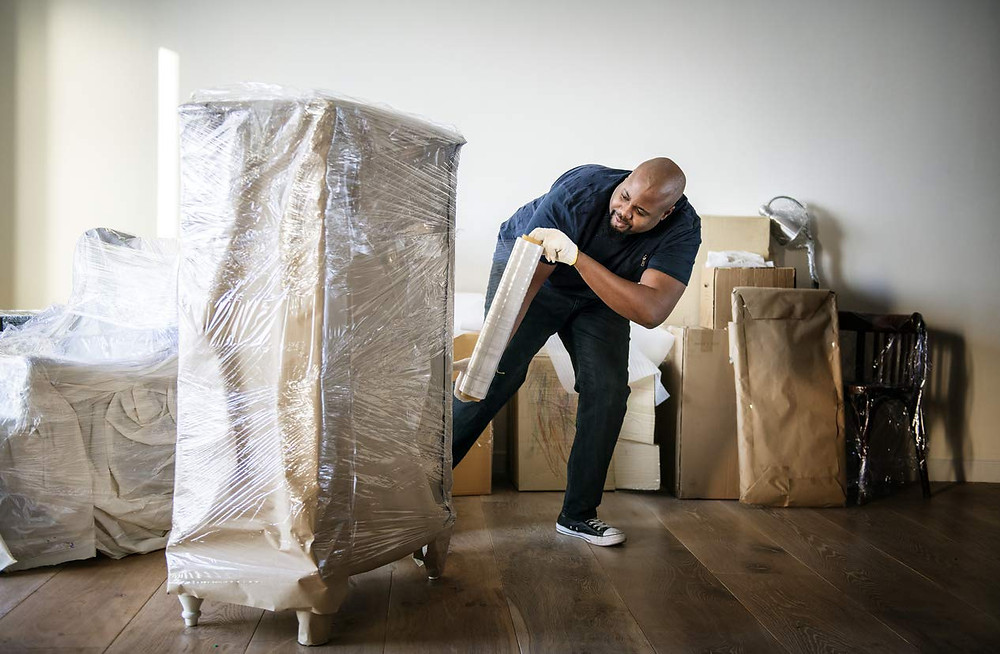 The versatile stretch film by the International Plastic Company can be used for moving, storage, and protecting any of your household items.