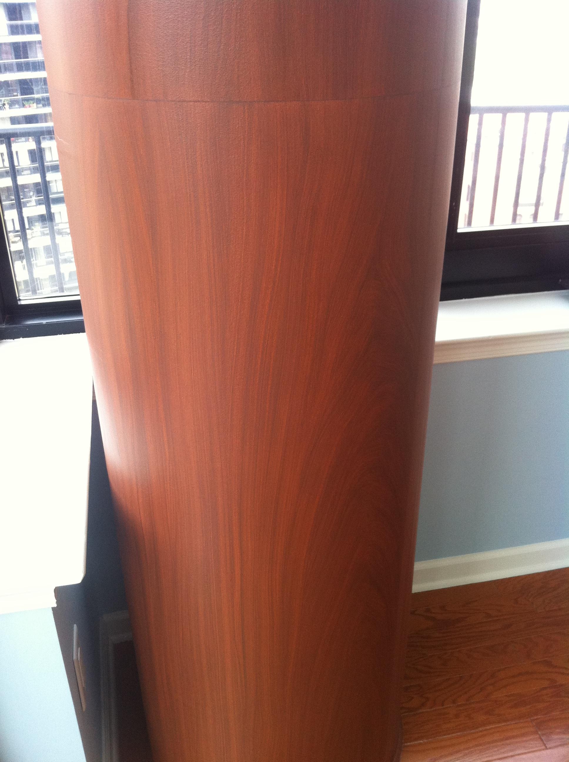 Faux Bois Mahogany Column