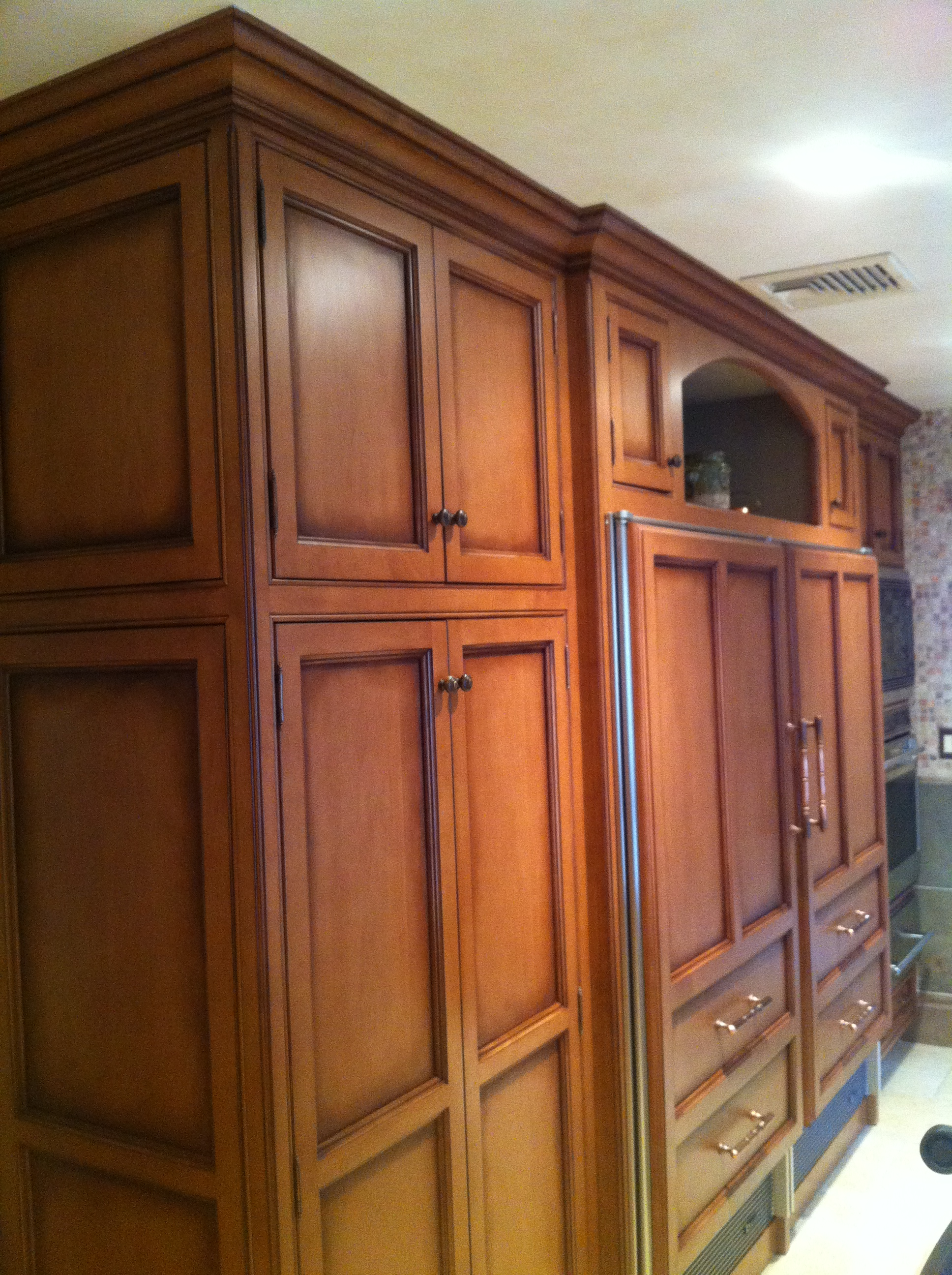 Antique Glazed Cabinetry