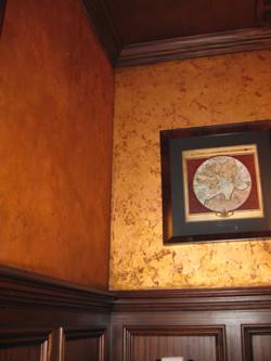 Copper Leaf Walls