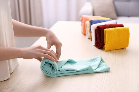 Skládání oblečení