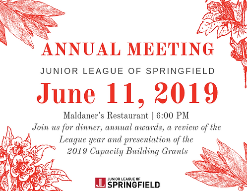 2019 Annual Meeting Ticket