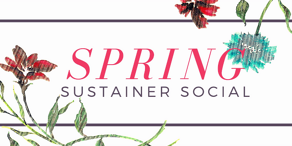 Spring Sustainer Social