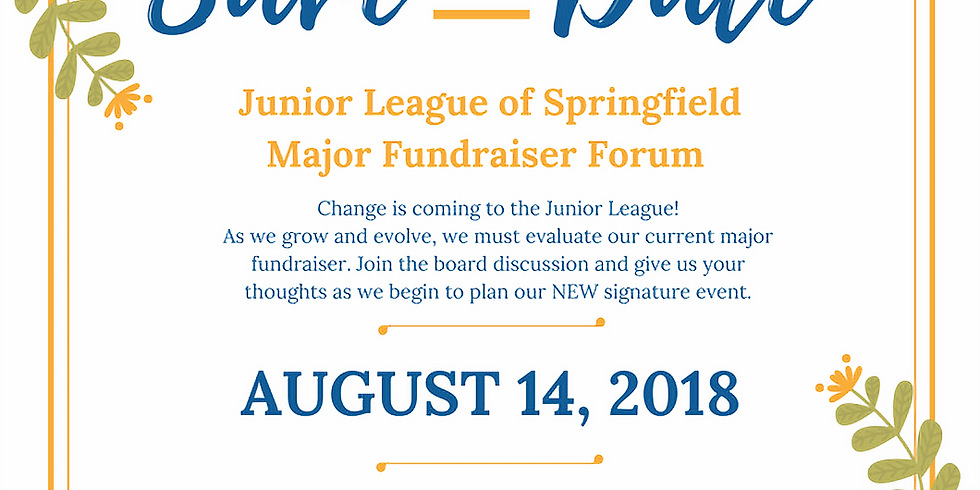 Major Fundraiser Forum