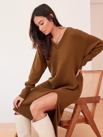 Cyprie V-Neck Dress