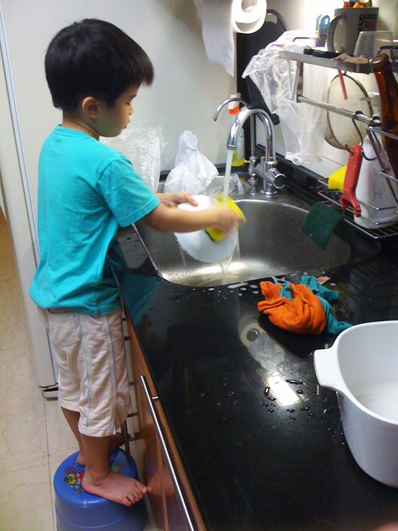 5比1,洗碗機領先手洗