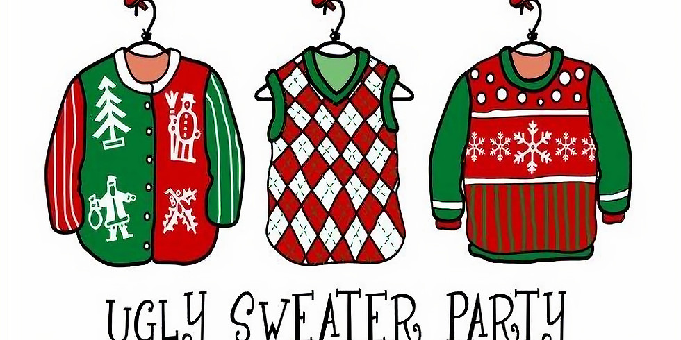 "REACH High ""un-social"" Ugly Sweater Christmas Party"