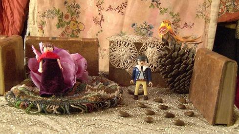 Julie-Marie Parmentier interprète un conte de Noël