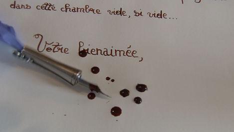 Julie-Marie Parmentier interprète La Lettre