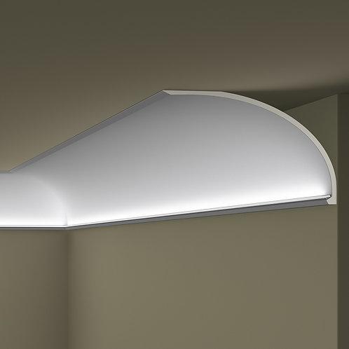 MC1 карниз для скрытого освещения ARSTYL NMC