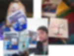 People with my comics.jpg