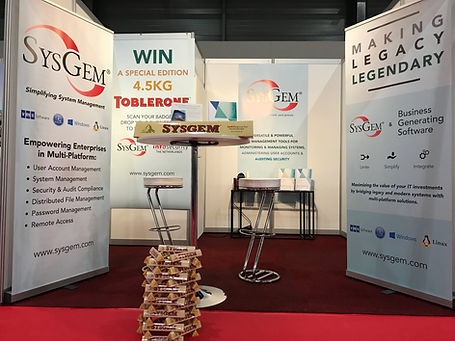Sysgem at InfosecurtyNL in Utrecht 2019.