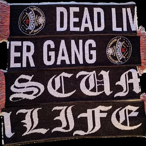 DEAD LIVER GANG SCARF