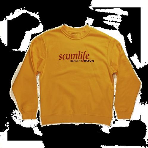 SCUMLIFE x THE HEALTHY BOYS - SOMMELIER SWEATSHIRT