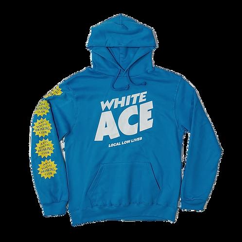 WHITE ACE ASDC HOODIE