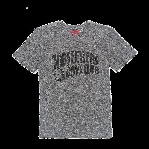 JOBSEEKERS BOYS CLUB SHIRT MARLED GREY