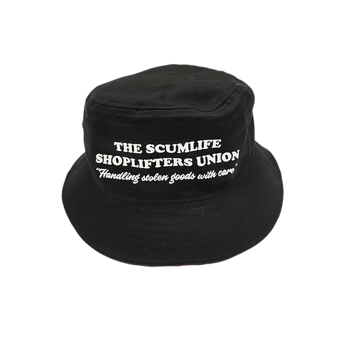 THE SCUMLIFE SHOPLIFTERS UNION BUCKET
