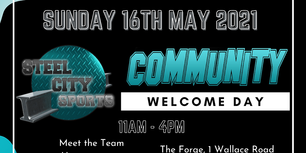 Steel City Sports Community Welcome Day