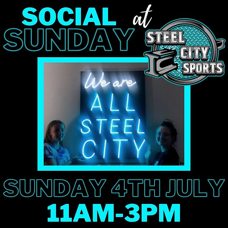 Social Sunday : 4th July 2021