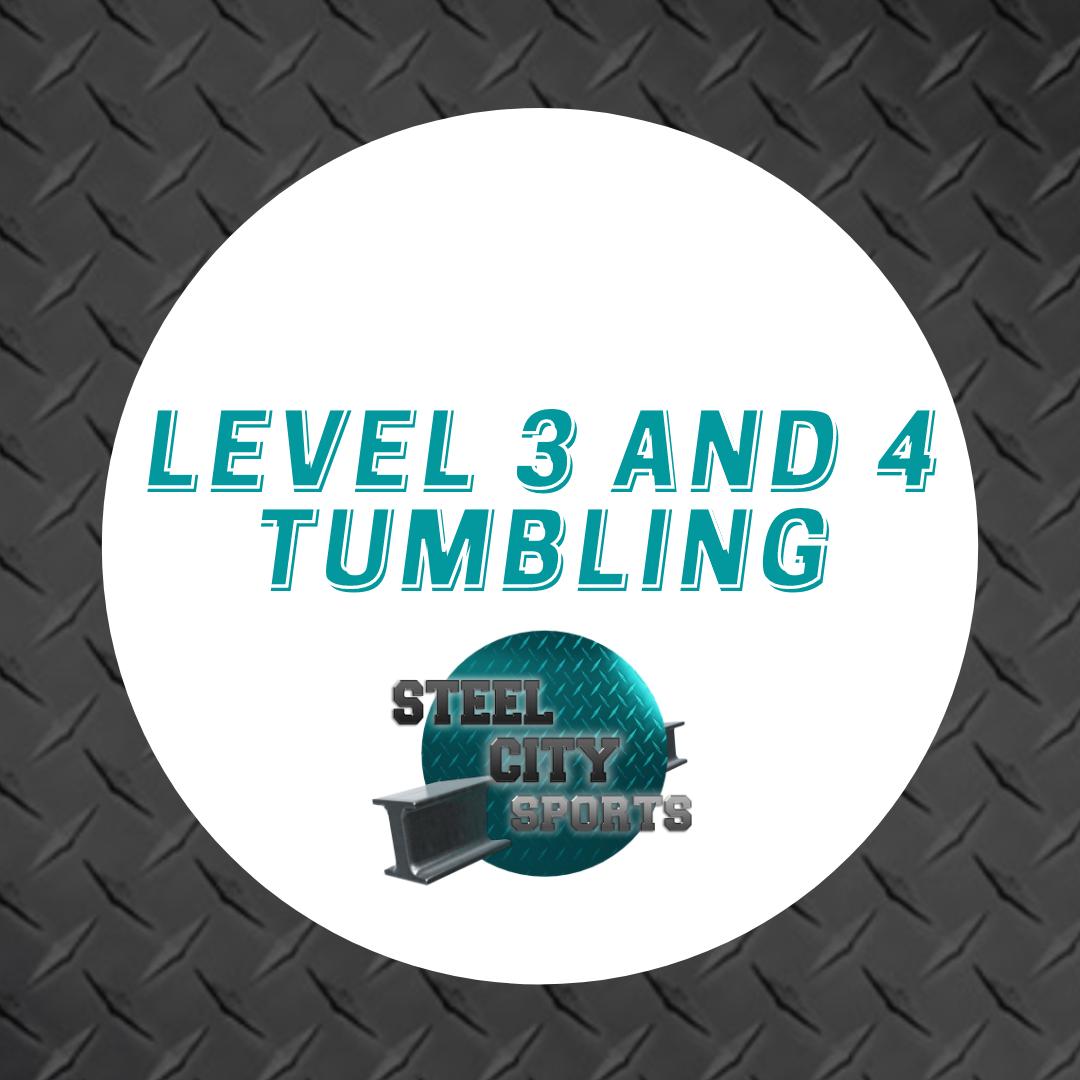 Level 3&4+ Tumbling Free Taster Session