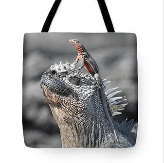 Reptile Partners Tote Bag