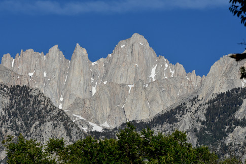 East Face of Mt. Whitney in Mid-Morning Light