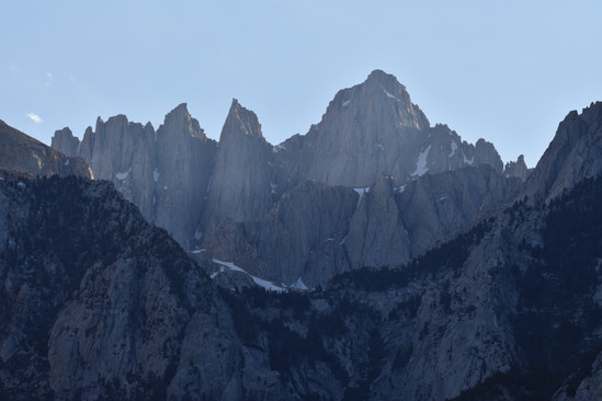 East Face of Mt. Whitney in Evening Light
